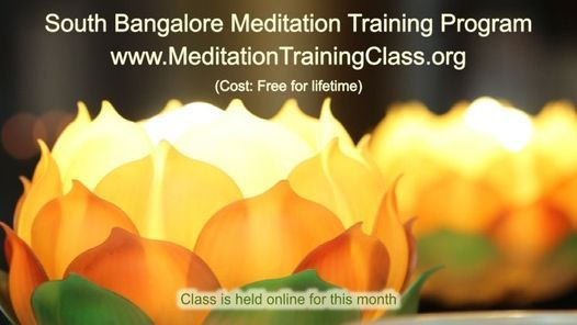 Free Online 2-Day Meditation Training Program-South Bangalore KA   Event in Bangalore   AllEvents.in