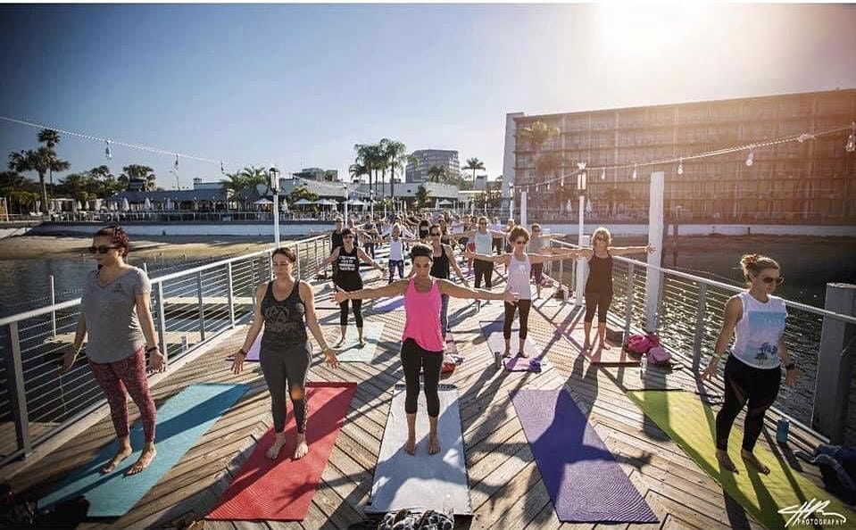 Yoga + Bottomless Mimosas on The Pier, 2 May | Event in Tampa | AllEvents.in