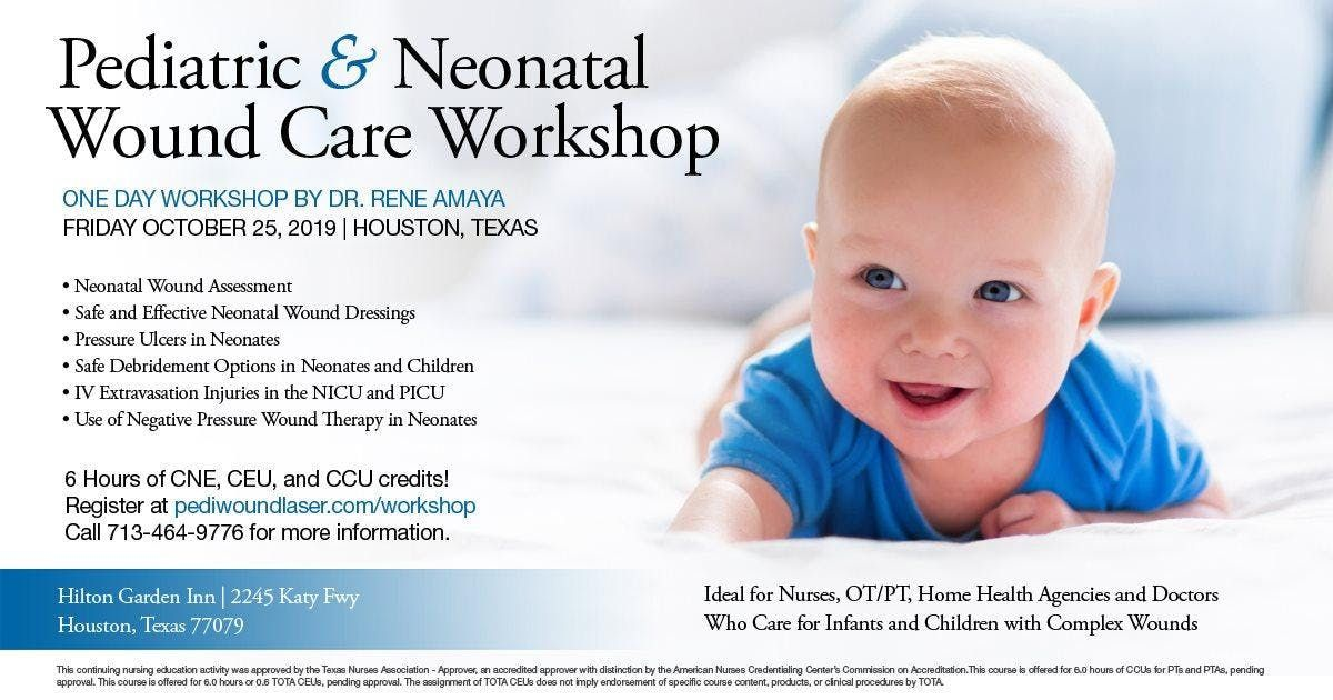 Pediatric & Neonatal Wound Care Workshop