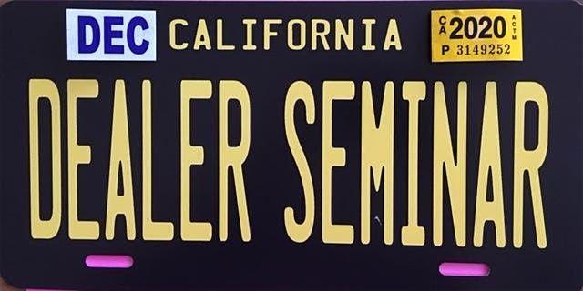 Los Angeles Car Dealer School