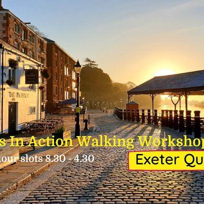 Ideas In Action Walking Workshops - Exeter