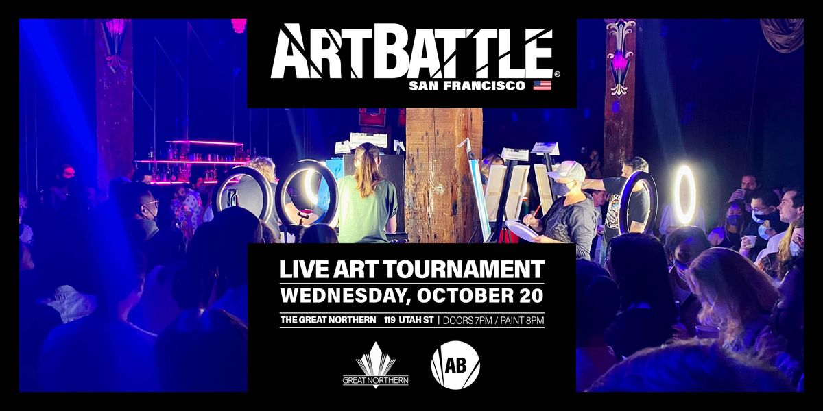 Art Battle San Francisco - October 20, 2021   Event in San Francisco   AllEvents.in
