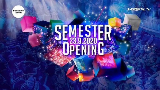 Semester Opening Party - Roxy, 24 February | Event in Prague | AllEvents.in
