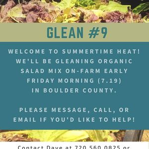 9th Glean of 2019 Front Range