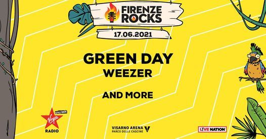 Green Day + more // Firenze Rocks 2021, 17 June   Event in Florence   AllEvents.in
