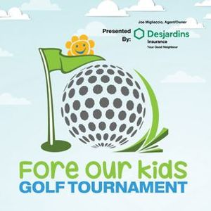 26th Annual Fore Our Kids Golf Tournament
