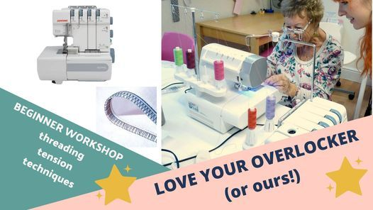 Love Your Overlocker (or ours!), 24 January | Event in Brighton | AllEvents.in