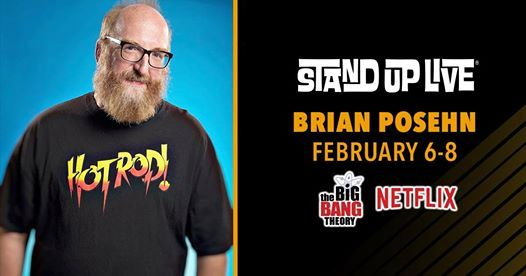 Brian Posehn at Stand Up Live