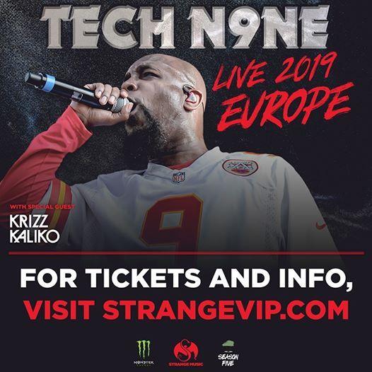 Istanbul Turkey - Tech N9ne Europe 2019