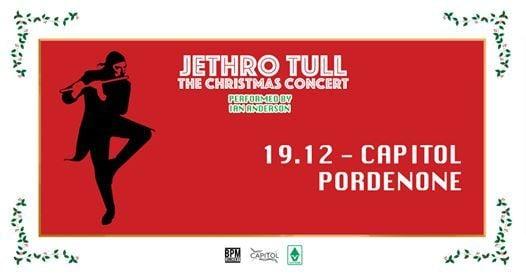 Jethro Tull - The Christmas Concert - Pordenone