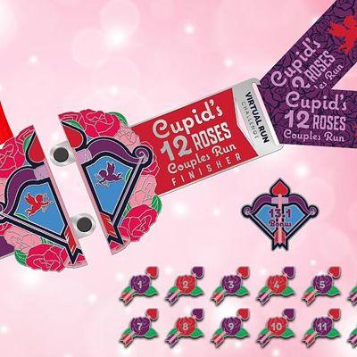 2021 Cupids 12 Roses of Valentines Day Run Challenge - Elk Grove