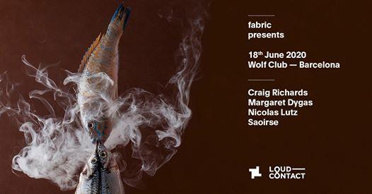 18.6 fabric x Loud-Contact BCN Craig Richards & Margaret Dygas