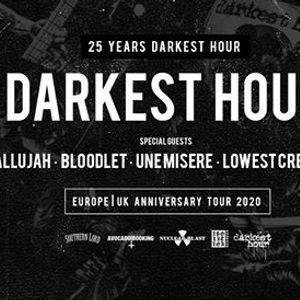 Darkest Hour - 25th Anniversary Tour at The Underworld Camden