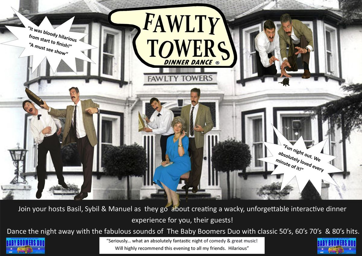 Fawlty Towers Dinner Dance, 5 November | Event in Ballarat East | AllEvents.in