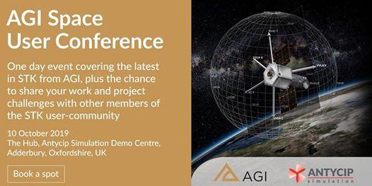 AGI Space User Conference The Hub Adderbury UK October 10