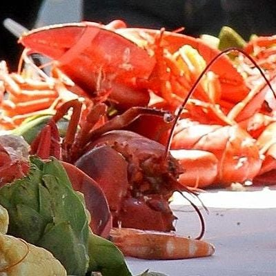Lobster Feed in the Vineyards