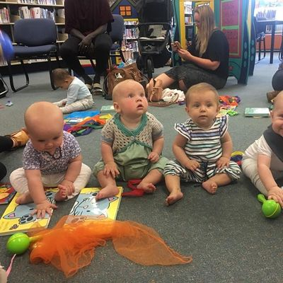 Baby Rhyme Time at Coffs Harbour Library