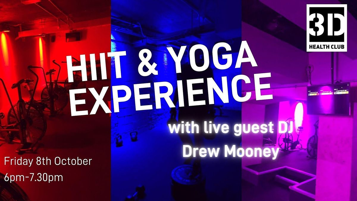 HIIT & Yoga Experience with Live DJ, 29 October | Event in Liverpool | AllEvents.in