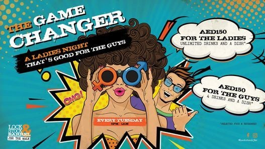A Ladies Night That's Good For The Guys | Event in Dubai | AllEvents.in