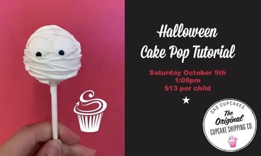Halloween Cake Pop Tutorial (ages 5-12) at SAS Cupcakes