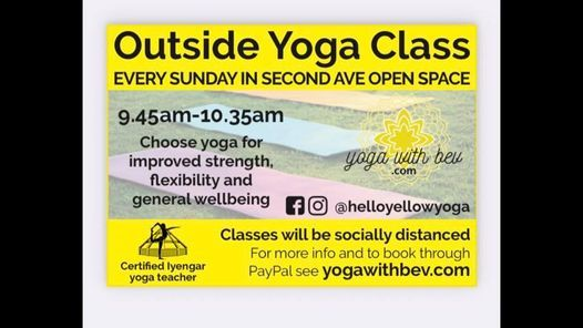 Outside Park Yoga with Bev | Event in Worthing | AllEvents.in
