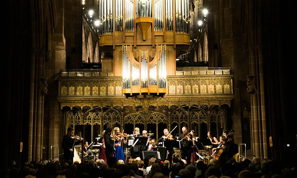 Vivaldi's Four Seasons by Candlelight @ Manchester Cathedral, 23 October   Event in Manchester   AllEvents.in
