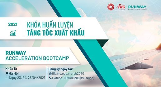 KHÓA HUẤN LUYỆN  RUNWAY ACCERLERATION BOOTCAMP 6, 23 April | Event in Hanoi | AllEvents.in