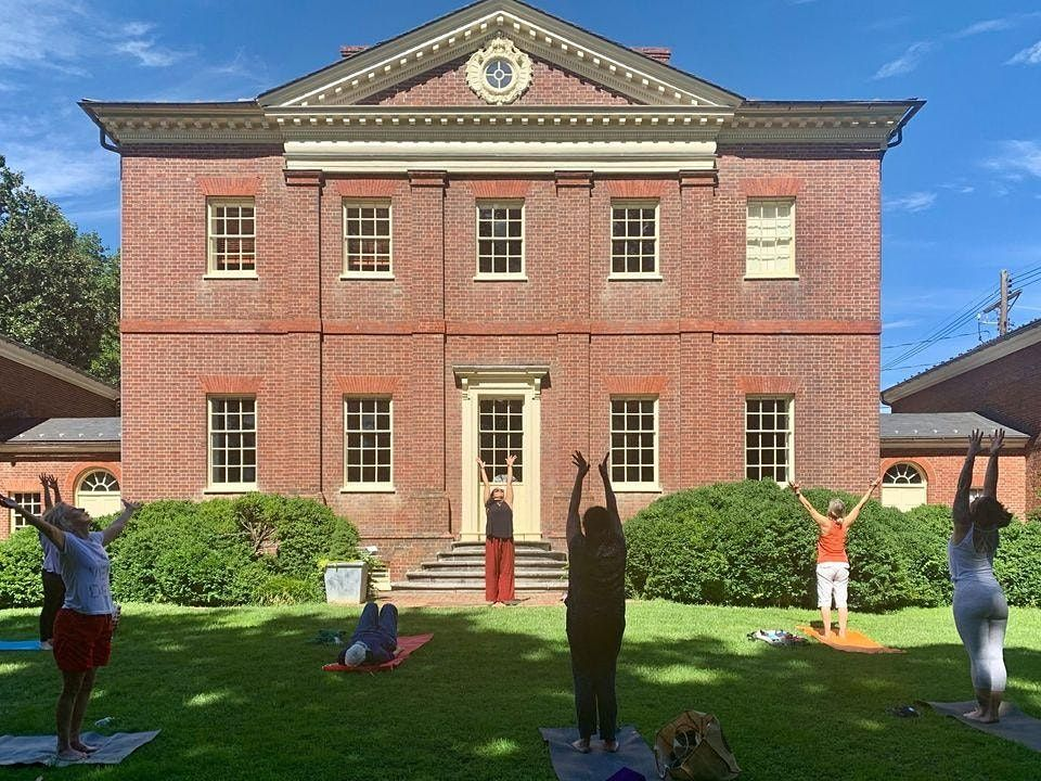 Stretch and Sketch: Yoga & Drawing at the Mansion, 24 July   Event in Annapolis   AllEvents.in