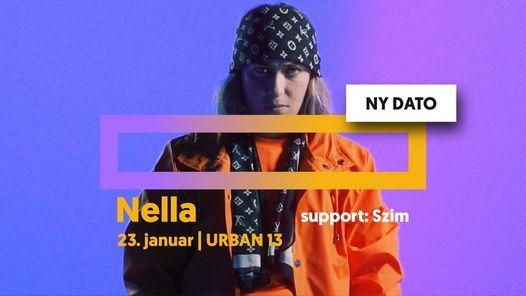 Nella + support: Szim | URBAN 13, 10 December | Event in Frederiksberg | AllEvents.in