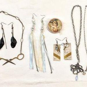 Mixed Media Jewelry Workshop November 20th