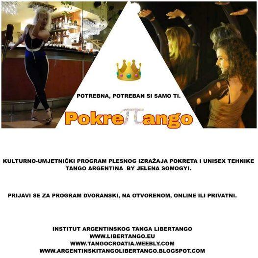 PokreTTango - plesna rekreacija bazirana na pokretima @tanga | Event in Zagreb | AllEvents.in