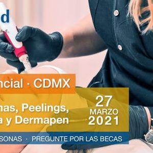 Curso de Enzimas Peelings Mesoterapia y Dermapen- CDMX