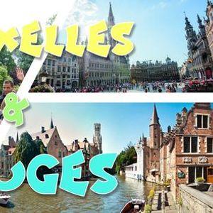 Weekend Bruges & Bruxelles & Fte de lIris 2021