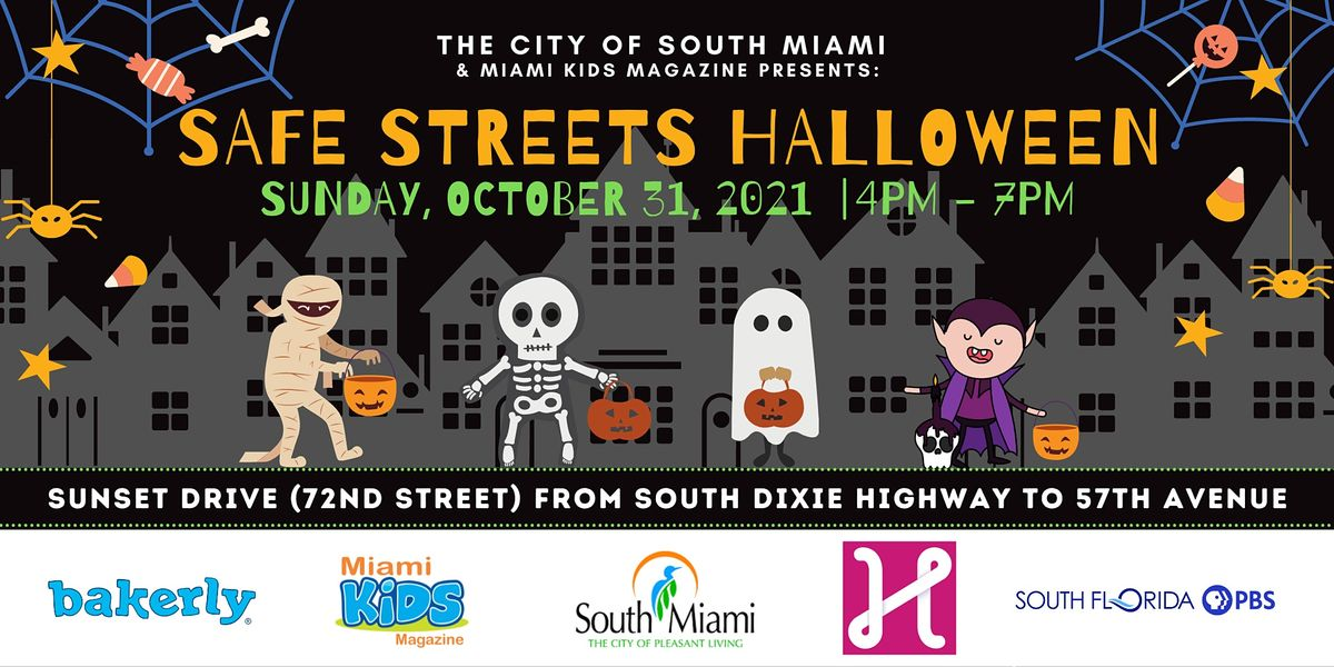Spooktacular Safe Streets Halloween Party!, 31 October | Event in South Miami | AllEvents.in