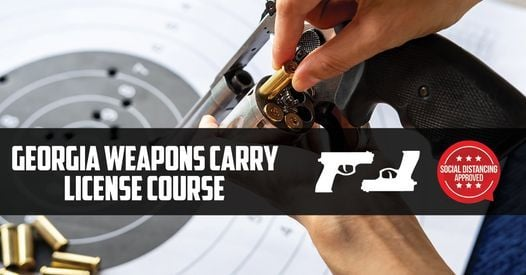 Weapons Carry License Course - Lavonia, GA - Only $19.99, 21 June | Event in Lavonia | AllEvents.in