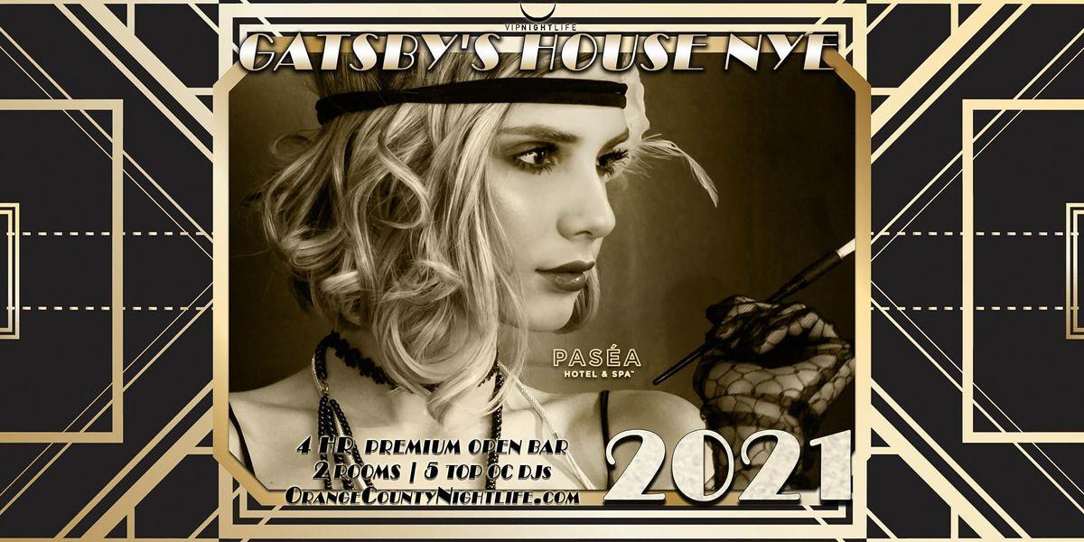 Gatsbys House - OC New Years Eve 2021 at Pasea Hotel, Huntington Beach