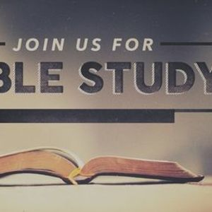 Bible Study Class - Evening Session