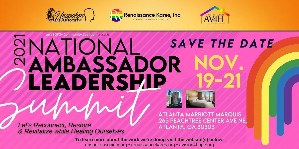 2021 National Ambassador Leadership Summit, 20 November | Event in Atlanta | AllEvents.in