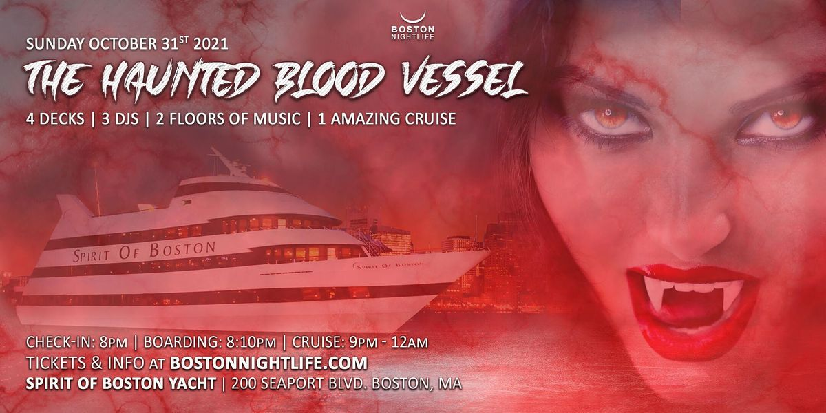 Haunted Blood Vessel Boston Halloween Party Cruise, 31 October | Event in Boston | AllEvents.in