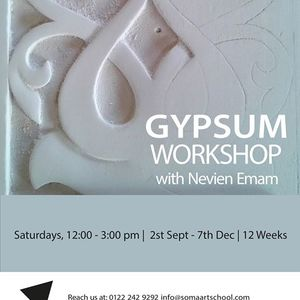 Gypsum Workshop with Nevien Emam