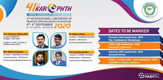 41st Karophth Annual Congress of Ophthalmology