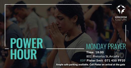 Power Hour - Prayer Night   Event in Pretoria   AllEvents.in