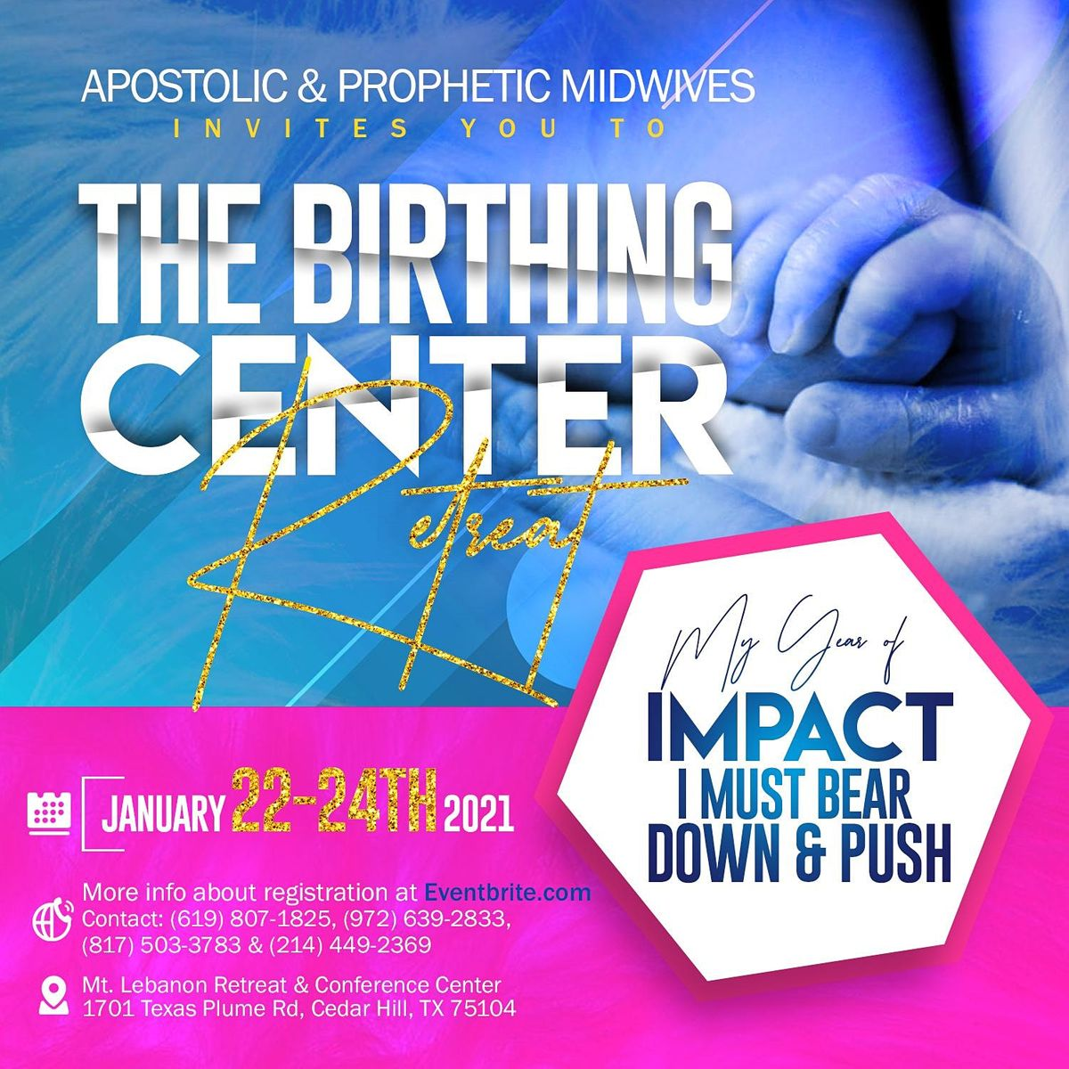The Birthing Place Retreat, 22 January | Event in Cedar Hill | AllEvents.in