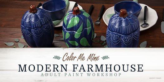 Adult Modern Farmhouse Pumpkin Workshop