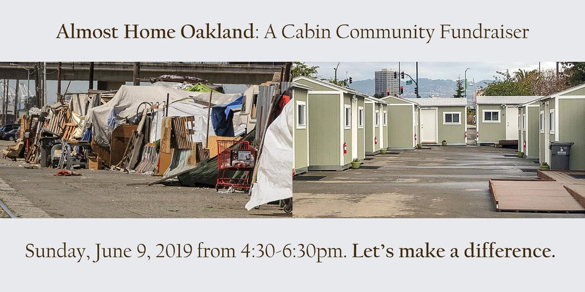 Almost Home A Cabin Community Fundraiser - October 21 2019