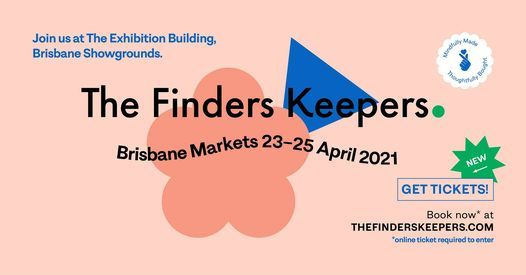 Brisbane AW21 Finders Keepers Market, 23 April | Event in Newstead | AllEvents.in