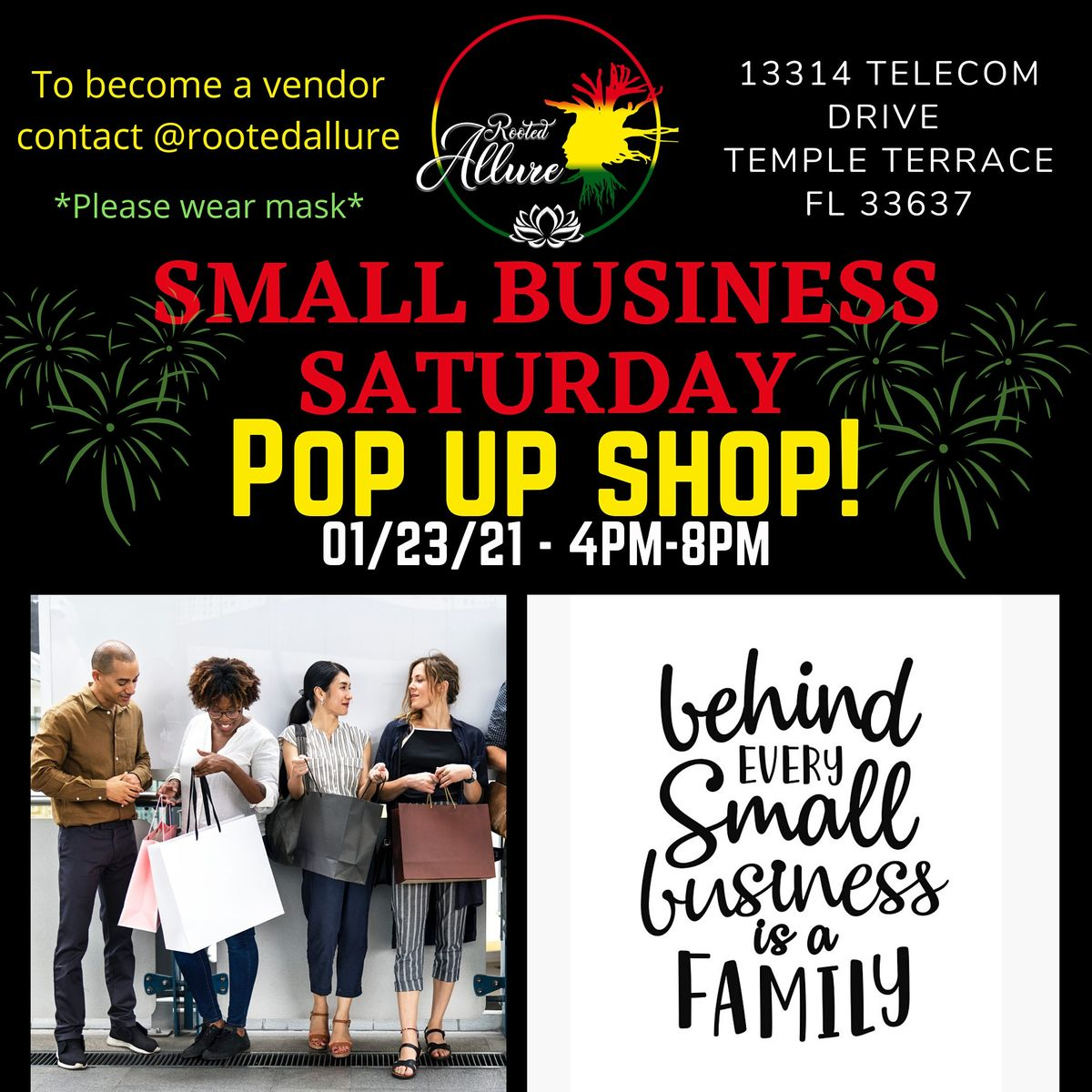 Small Business Saturday Pop up Shop | Event in Tampa | AllEvents.in
