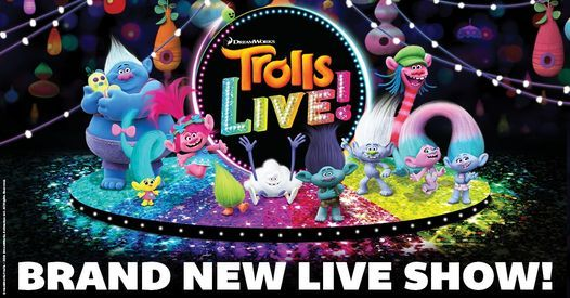Trolls Live! - Cancelled, 24 July | Event in Los Angeles | AllEvents.in