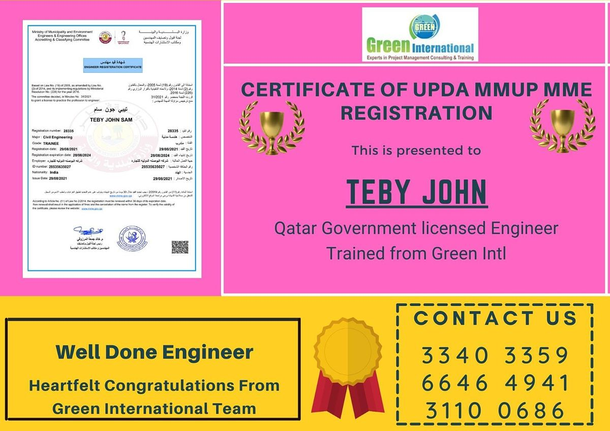 Exam for engineers in Qatar – MMUP Electronics and Instrumentation, 4 October | Event in Chennai | AllEvents.in