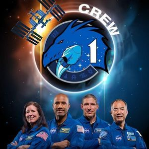 NASA SpaceX Crew-1 - Falcon 9